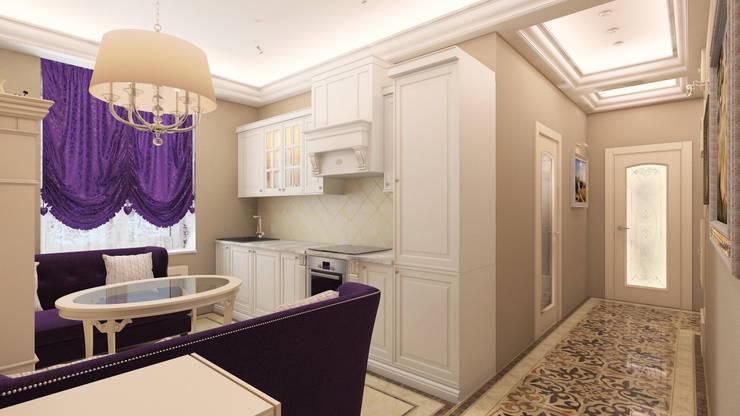 кухня: Кухни в . Автор – DEMARKA