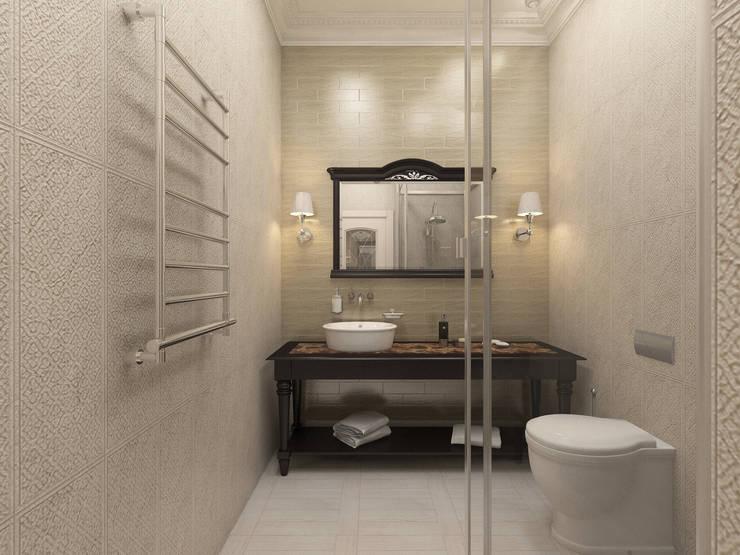 ванная: Ванные комнаты в . Автор – DEMARKA