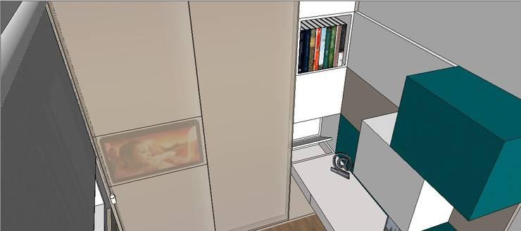 Residência Santo André: Quartos  por Studio Meraki Arquitetura e Design