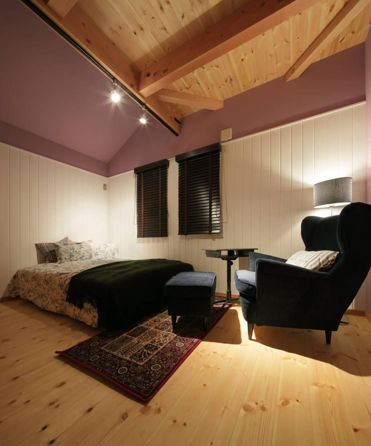 M's HOUSE: dwarfが手掛けた寝室です。