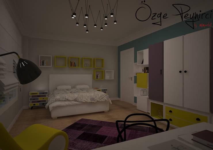 Deniz Gökçe Mimarlık ve İnşaat – Genç Odası Tasarım :  tarz Çocuk Odası