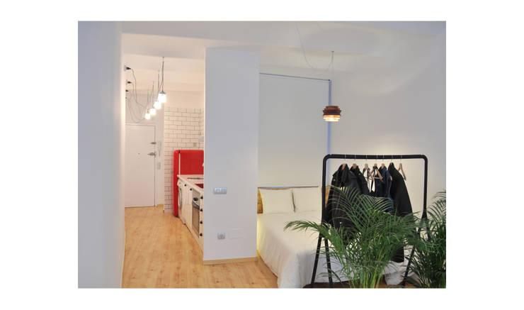 BS6: Estudios y despachos de estilo escandinavo de SUIN design studio