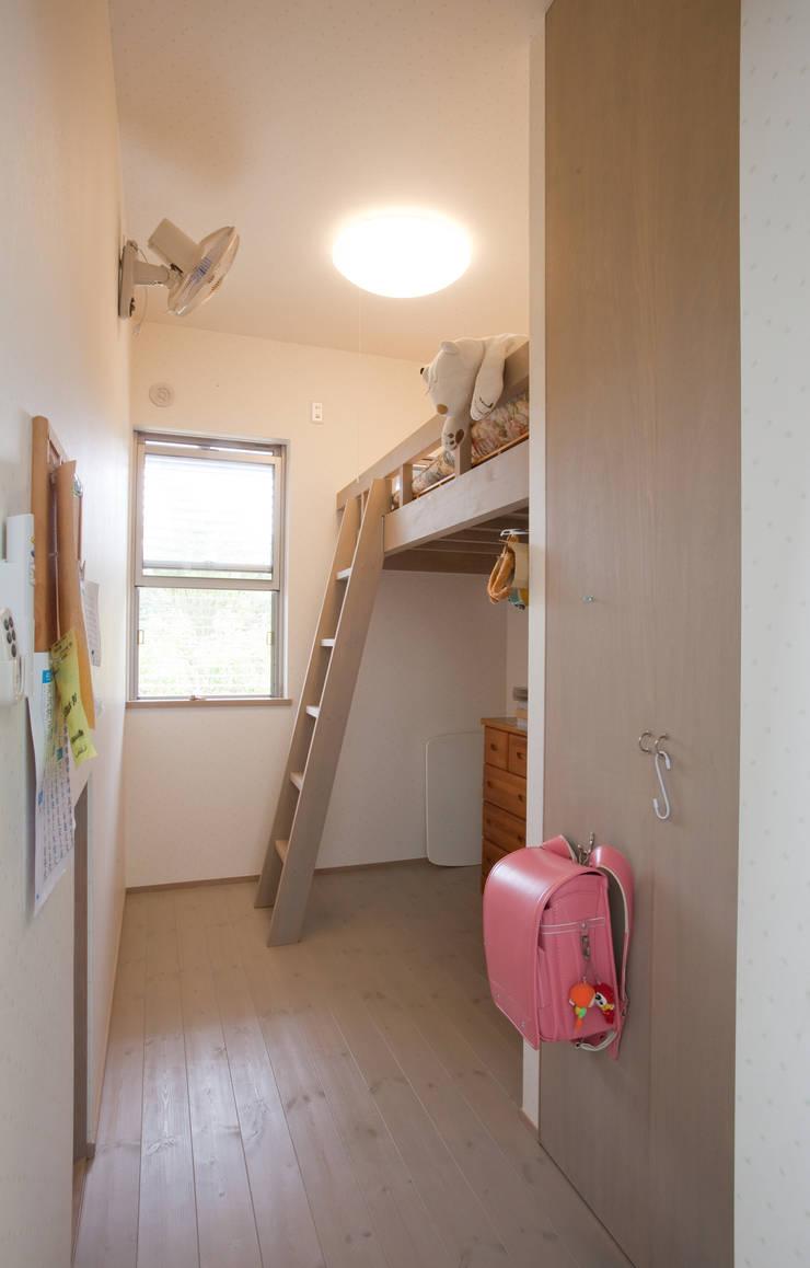 北小松の家: 株式会社 atelier waonが手掛けた子供部屋です。,モダン