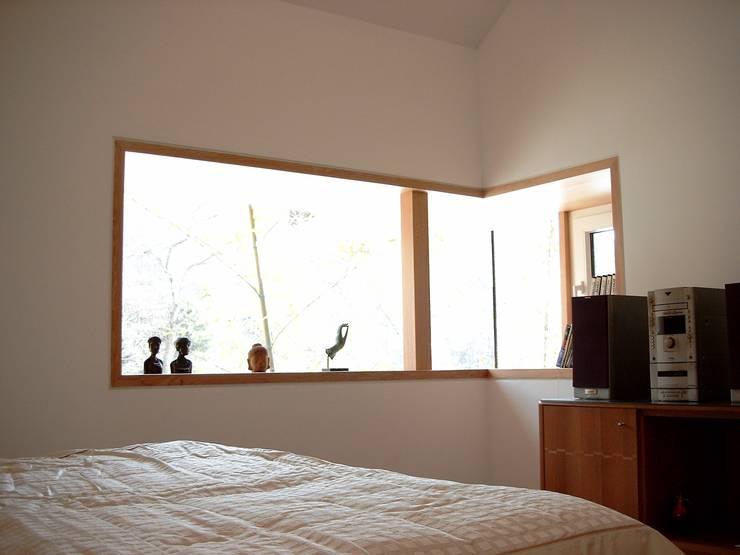 경기도 양평 5호 : 팀버하우스의  침실