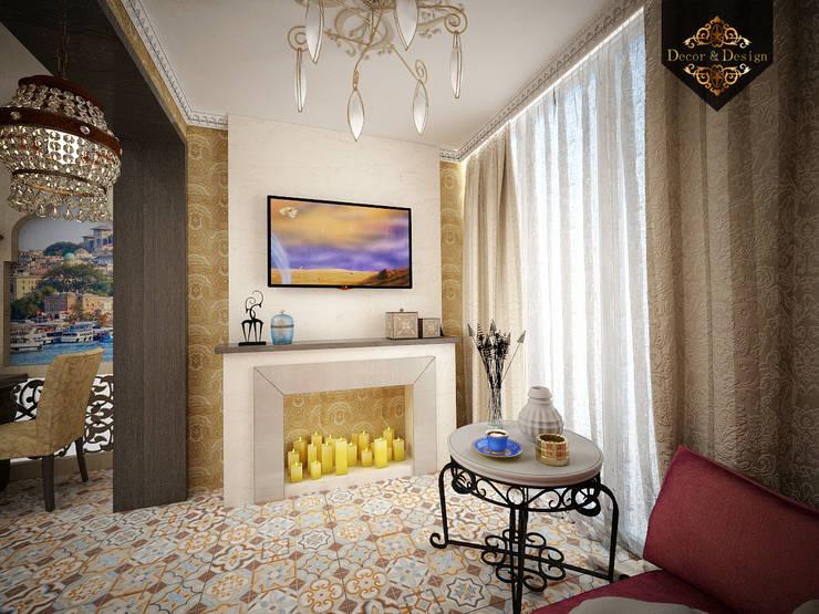 светский восток: Tерраса в . Автор – Decor&Design,