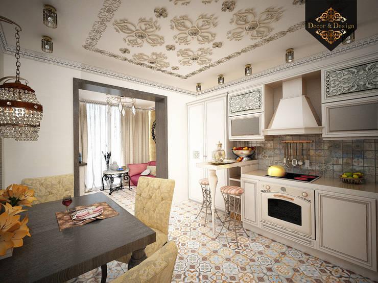 Cocinas de estilo colonial de Decor&Design
