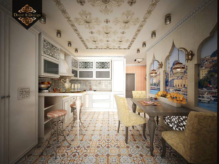светский восток: Кухни в . Автор – Decor&Design,