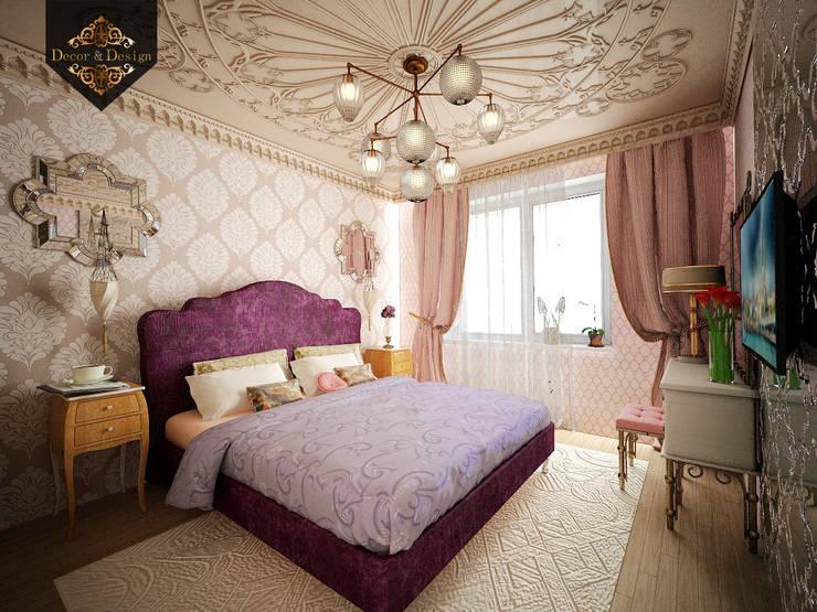 светский восток: Спальни в . Автор – Decor&Design,