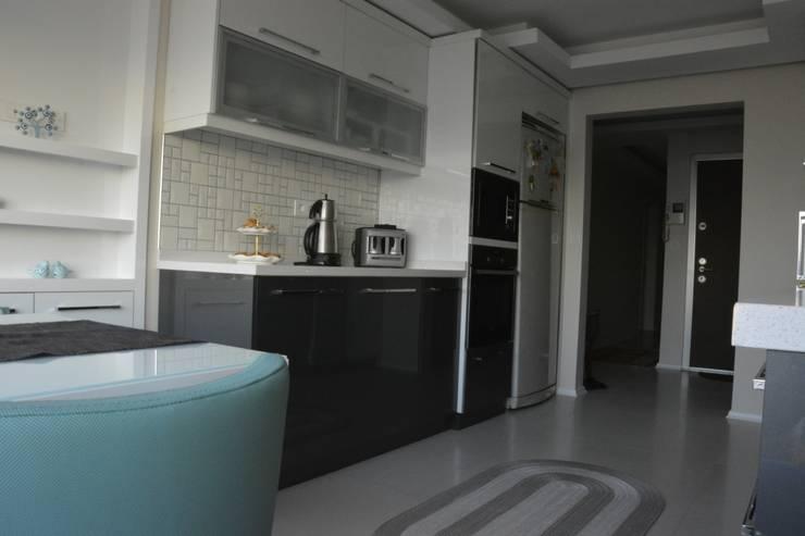 ACS Mimarlık – İzmir Mimkent'te Yeni Bir Yaşam Projesi:  tarz Mutfak