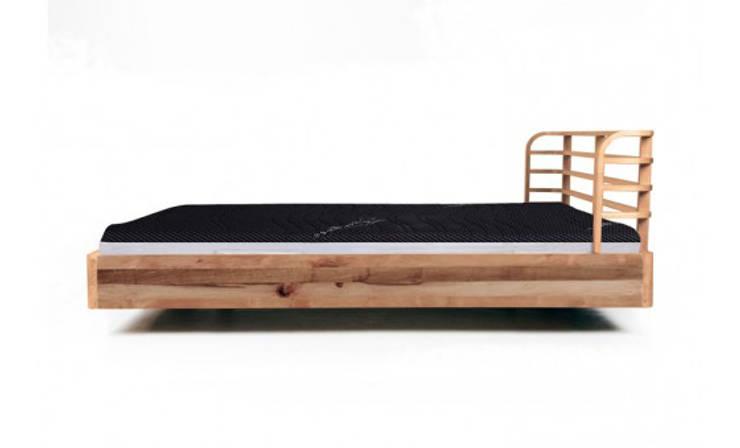 MAZZIVO bed BOW - solid alder wood: styl , w kategorii Sypialnia zaprojektowany przez mazzivo konzept + gestaltung przemysław mitręga,