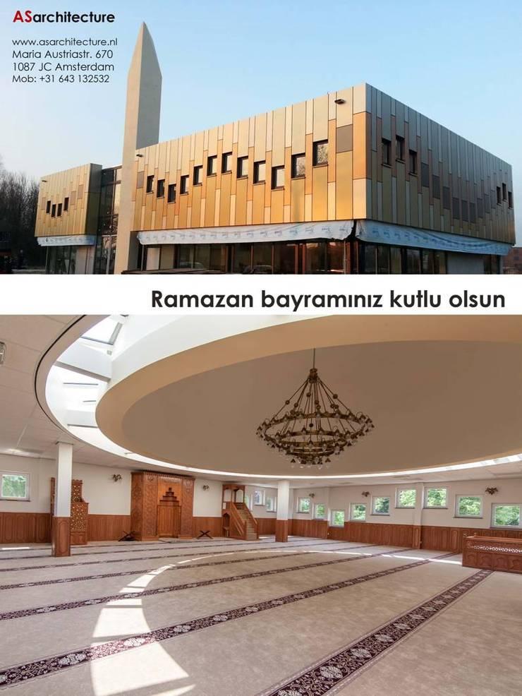 Mevlana Mosque, Zevenaar:  Exhibitieruimten door Arzu Senel Architecture, Mediterraan