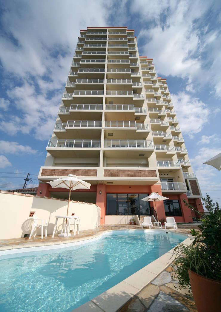 プールのある風景3: PROSPERDESIGN ARCHITECT OFFICE/プロスパーデザインが手掛けた家です。
