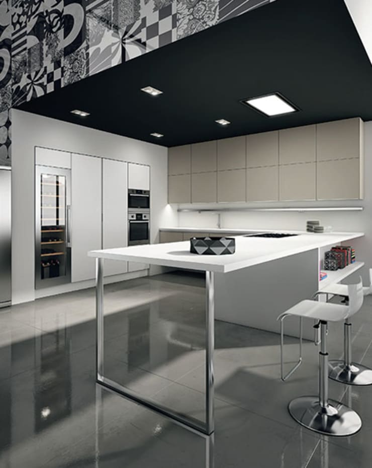 Italian Kitchens : modern  by Woodville,Modern