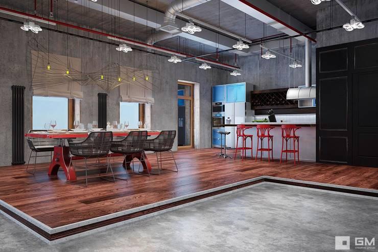 Salas / recibidores de estilo  por GM-interior