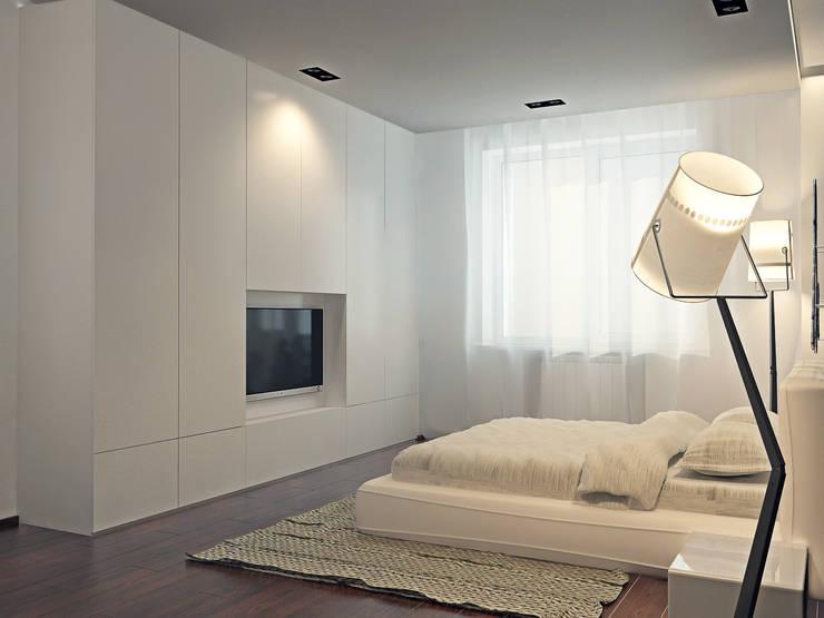 Японский минимализм: Спальни в . Автор – BIARTI - создаем минималистский дизайн интерьеров,