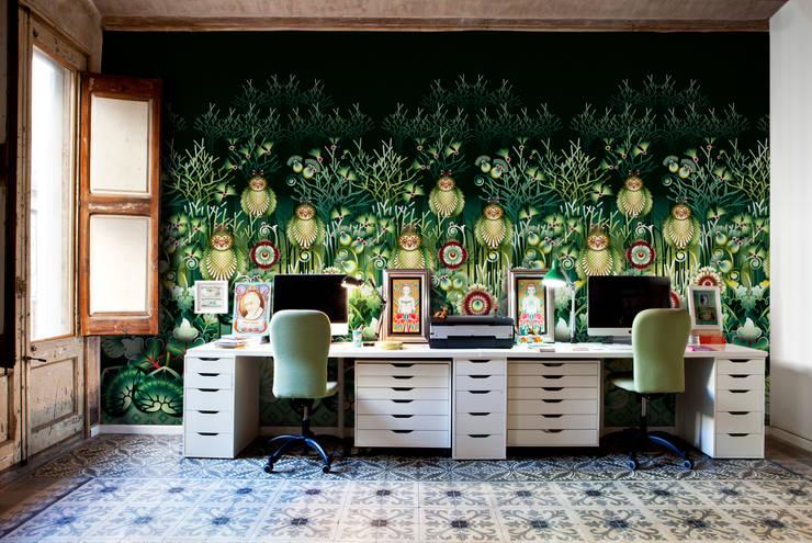 Paredes y pisos de estilo  por Bloompapers