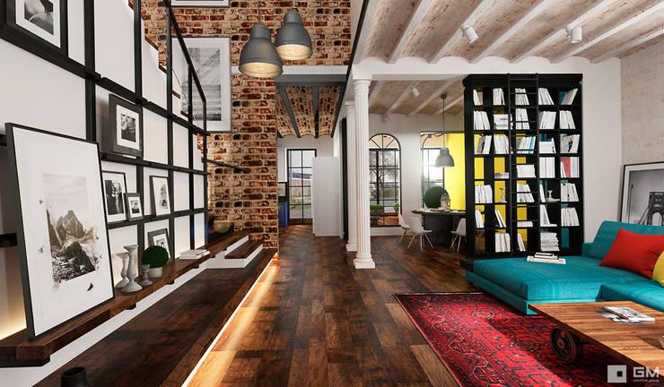 Эксклюзивный дизайн-проект дома в стиле эклектика: Коридор и прихожая в . Автор – GM-interior,