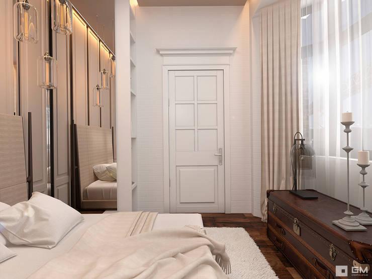 Slaapkamer door GM-interior