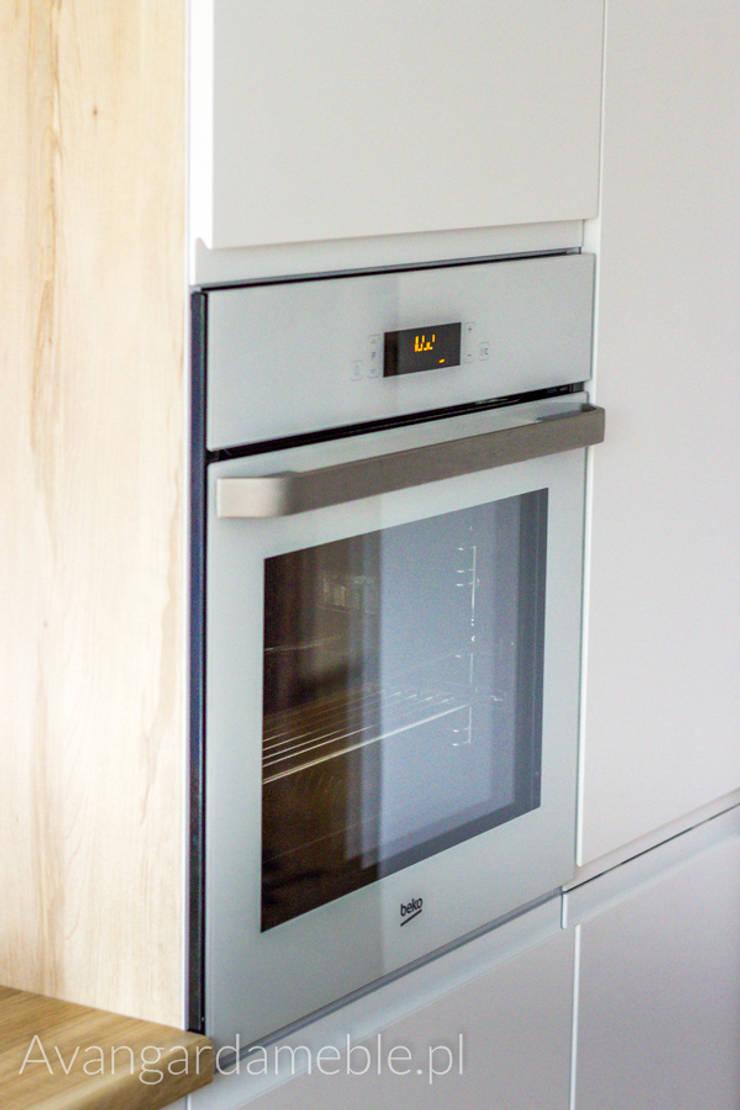 Piekarnik: styl , w kategorii Kuchnia zaprojektowany przez Sebastian Germak - Avangarda Meble,