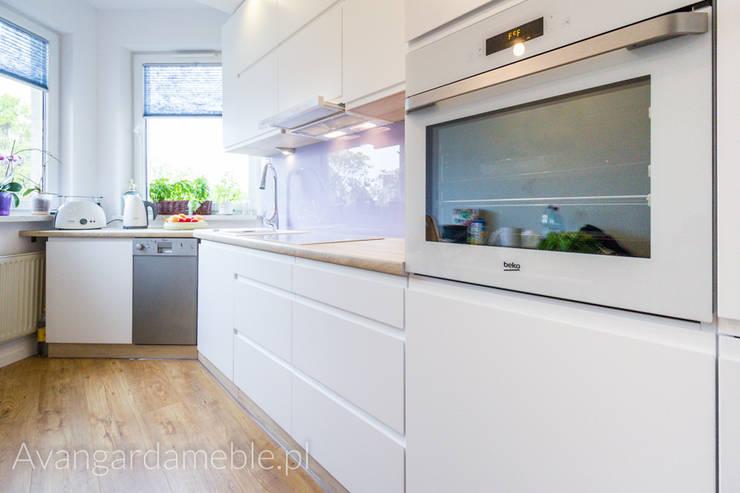 Fartuch kuchenny : styl , w kategorii Kuchnia zaprojektowany przez Sebastian Germak - Avangarda Meble,