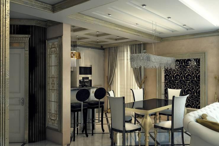 Золотая классика: Столовые комнаты в . Автор – Евдокимов