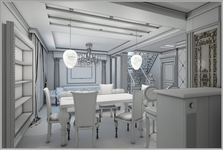 Золотая классика: Столовые комнаты в . Автор – Евдокимов,