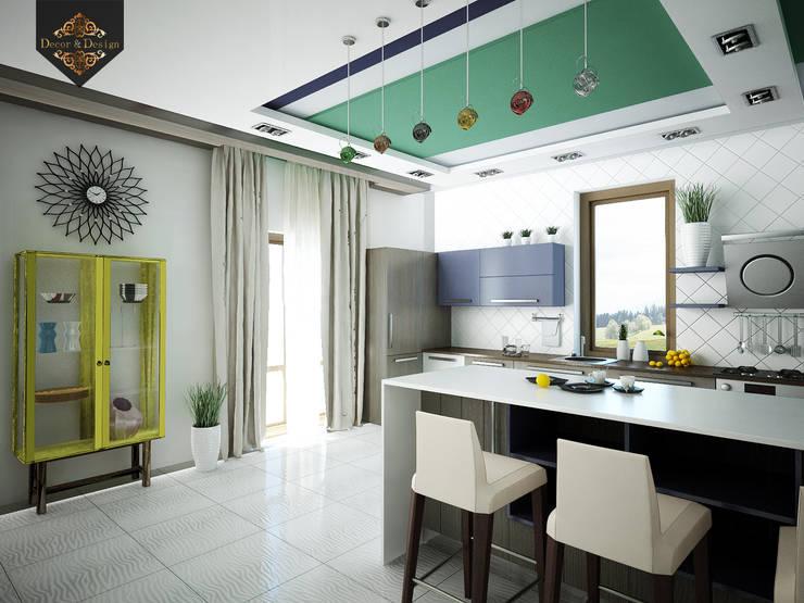 молодежный интерьер: Гостиная в . Автор – Decor&Design