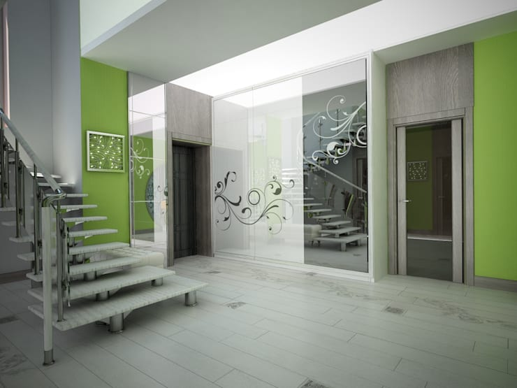 молодежный интерьер: Коридор и прихожая в . Автор – Decor&Design,