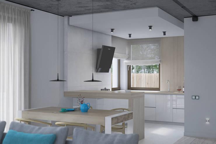 Kitchen by Kunkiewicz Architekci