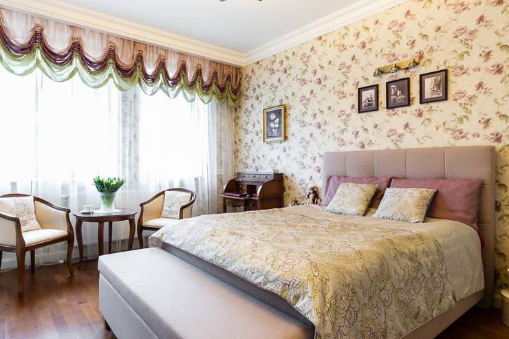 classic Bedroom by Gzowska&Ossowska Pracownie Architektury Wnętrz