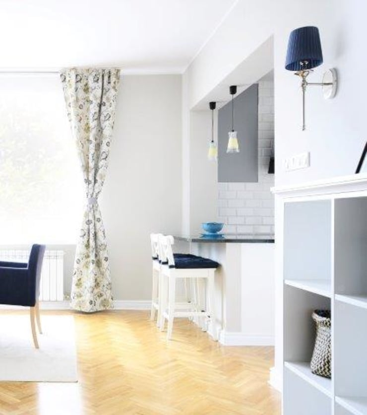Dom w stylu amerykańskim - jadalnia: styl , w kategorii Salon zaprojektowany przez IDeALS | interior design and living store