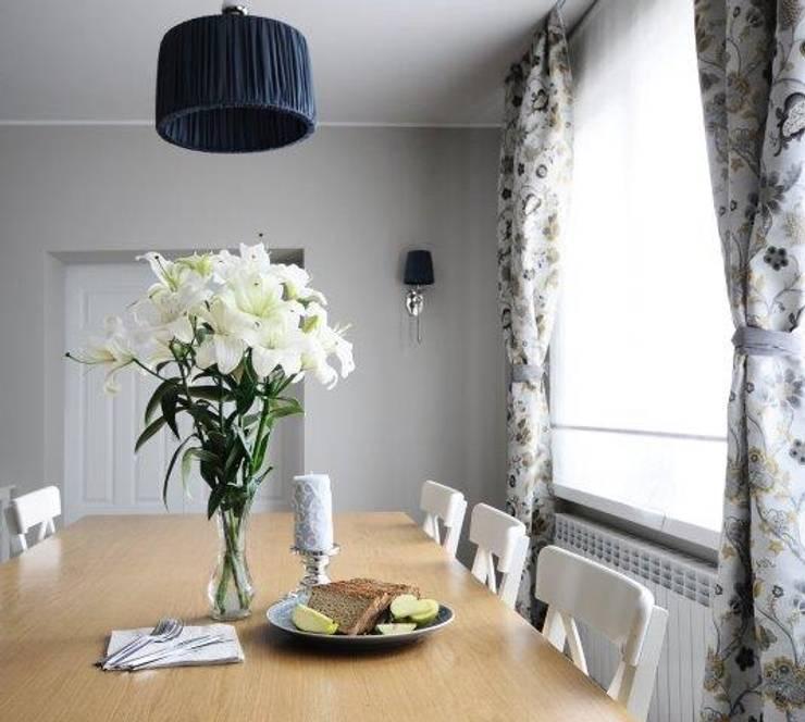 Dom w stylu amerykańskim - jadalnia: styl , w kategorii Jadalnia zaprojektowany przez IDeALS | interior design and living store