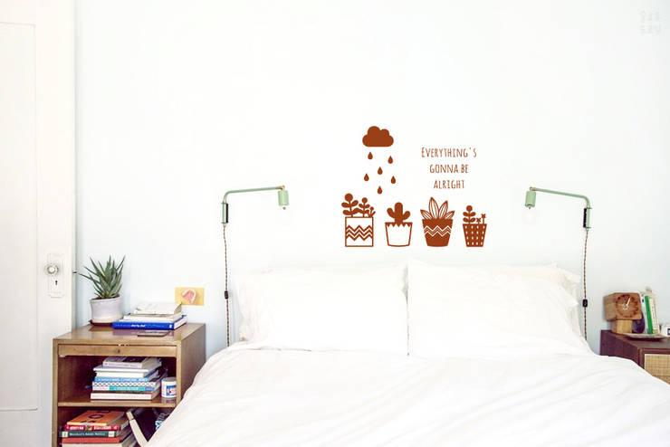 북유럽화분: 슬로우드로잉의  아이 방