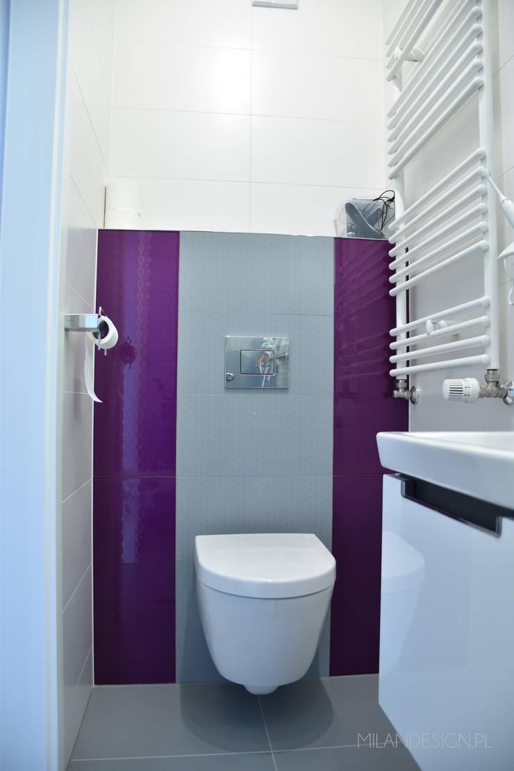 Łazienka nowoczesna: styl , w kategorii Łazienka zaprojektowany przez Milan design ,Nowoczesny