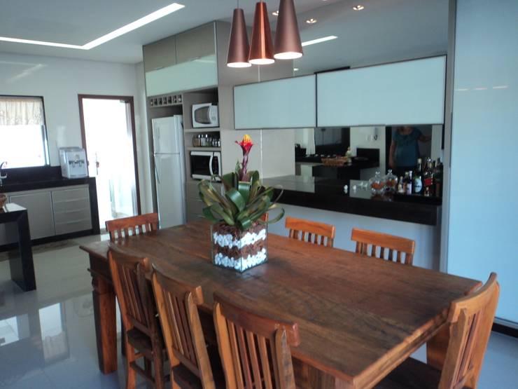 Espaço Gourmet: Cozinhas  por Edifique Arquitetura & Interiores,Moderno