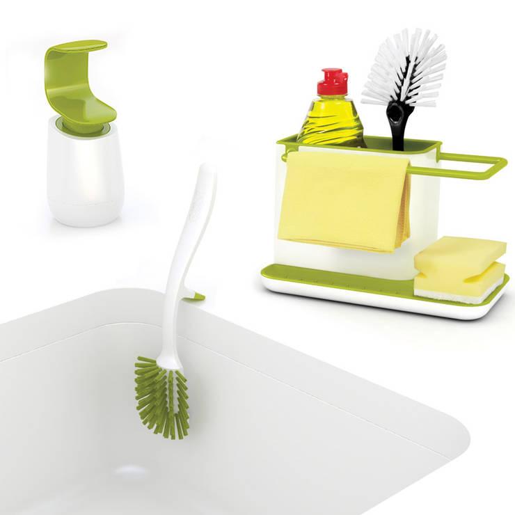Набор для мытья посуды 3-piece (органайзер, диспенсер, щетка): Кухня в . Автор – Enjoyme