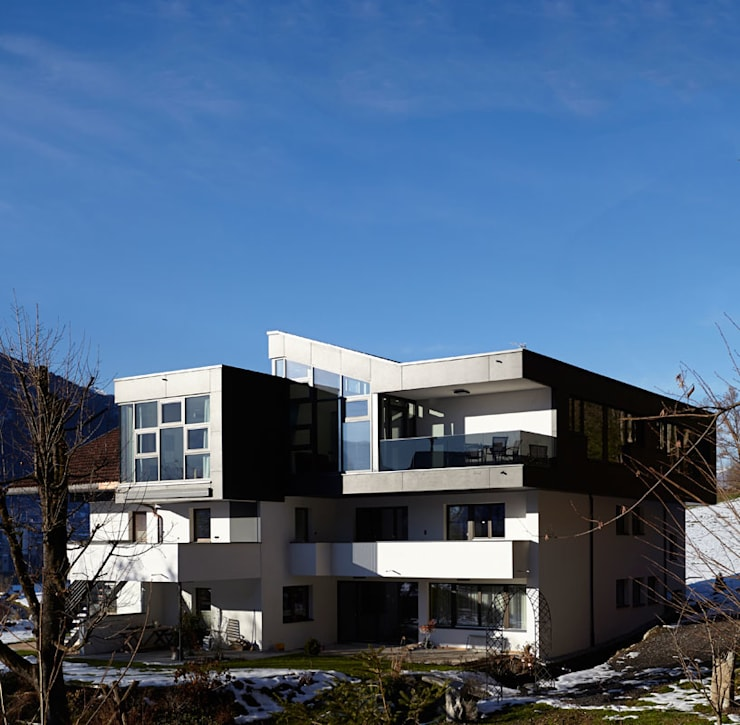 TOP LEVEL APARTMENTS:  Hotels von EINFACH3 Architekten Ziviltechniker KG
