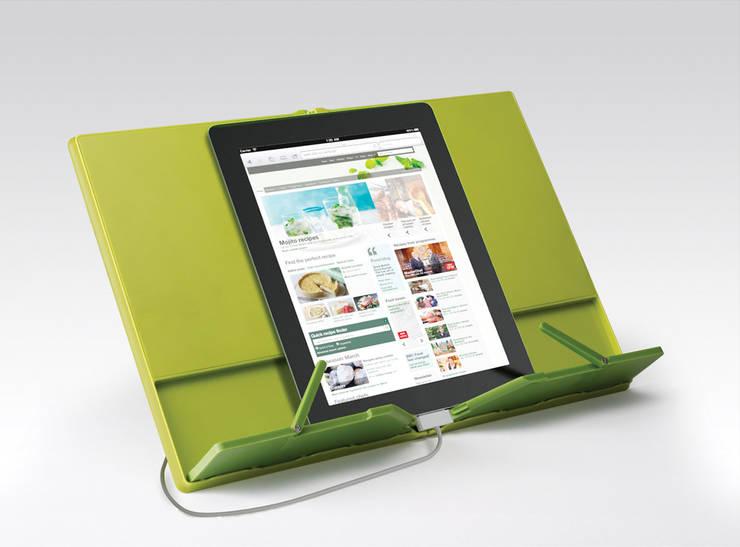 Подставка для кулинарной книги CookBook™ складная зеленая:  в . Автор – Enjoyme, Классический Пластик