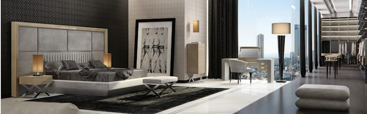 Quartos modernos por Passerini Interior Design Consulting