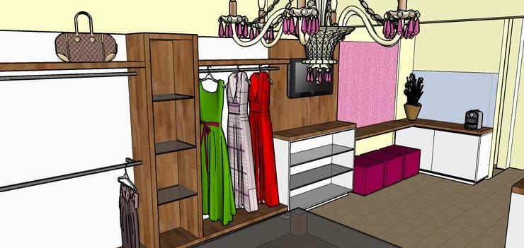 Maquete dos móveis e acabamentos:   por Andresa Jessita,