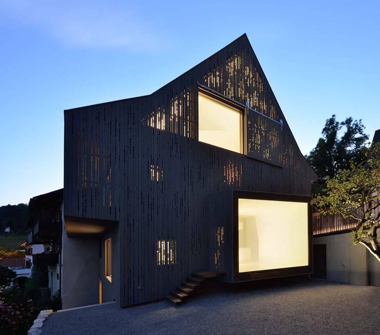 Projekty,  Domy zaprojektowane przez L3P Architekten ETH FH SIA AG