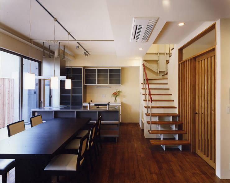 京都 伏見の家: boston-5が手掛けたキッチンです。