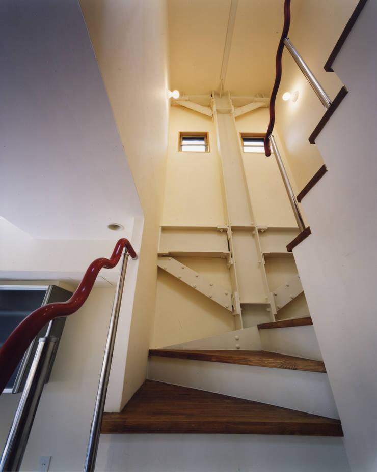 京都 伏見の家: boston-5が手掛けた廊下 & 玄関です。,