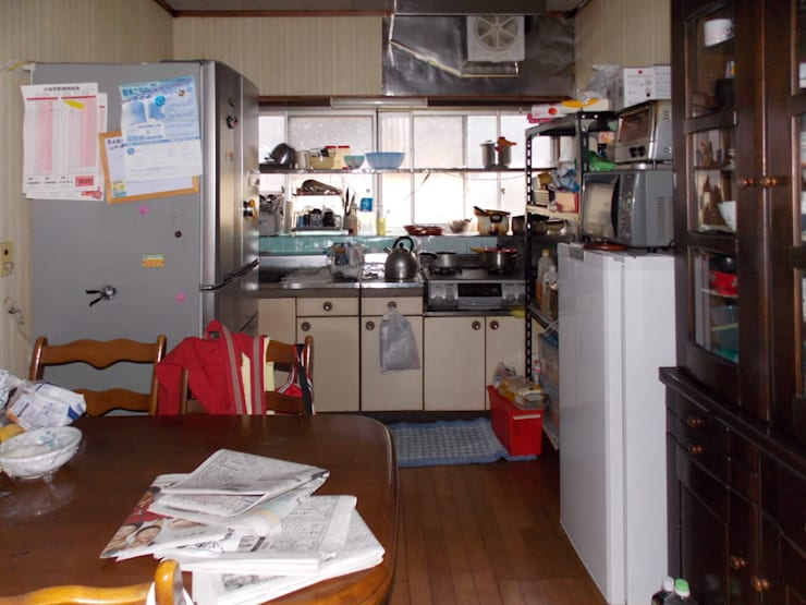 Before キッチン: アンドウ設計事務所が手掛けたです。
