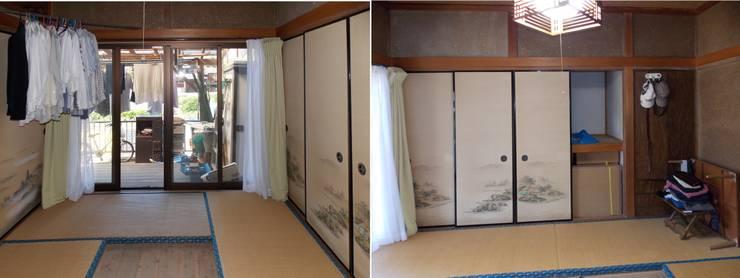 Before 和室の2間続きの2室: アンドウ設計事務所が手掛けたです。