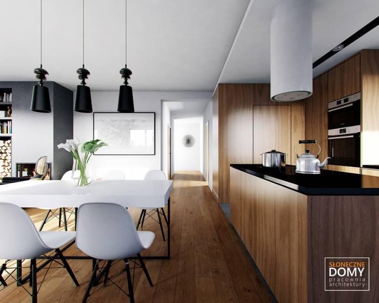 Balos A: styl , w kategorii Kuchnia zaprojektowany przez Słoneczne Domy Pracownia Architektury,Nowoczesny