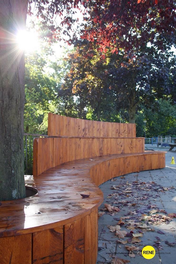 PLEIN-TRIBUNE:  Tuin door René Scholten Architectuur