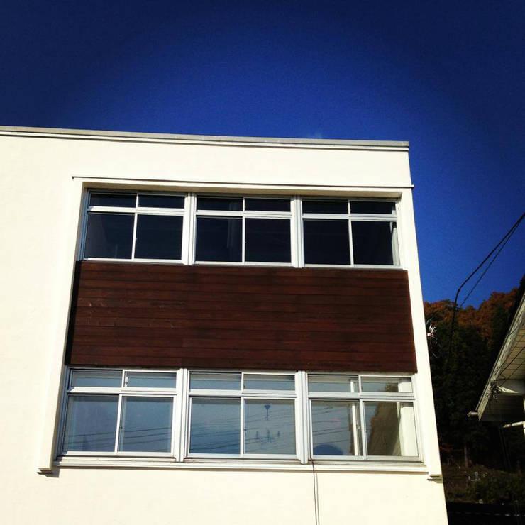 The appearance   (stucco wall): 拡運建設株式会社が手掛けたです。