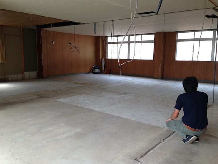 【Before】 Meeting room: 拡運建設株式会社が手掛けたです。