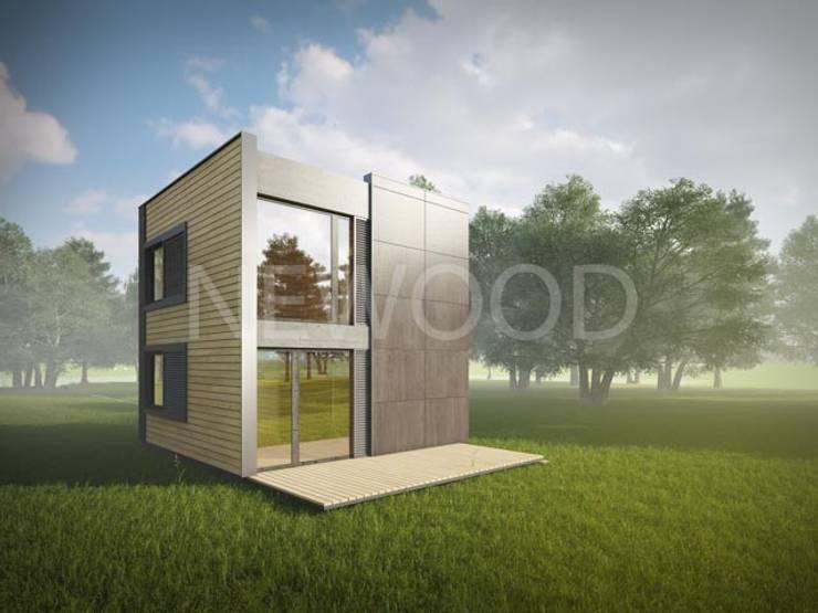 Cube: Дома в . Автор – NEWOOD - Современные деревянные дома